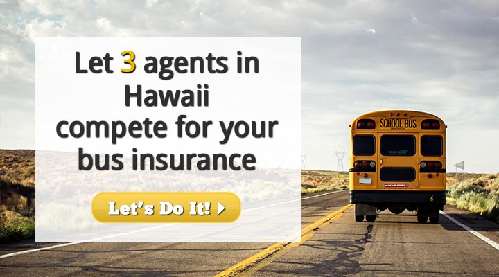 Hawaii Bus Insurance Quotes